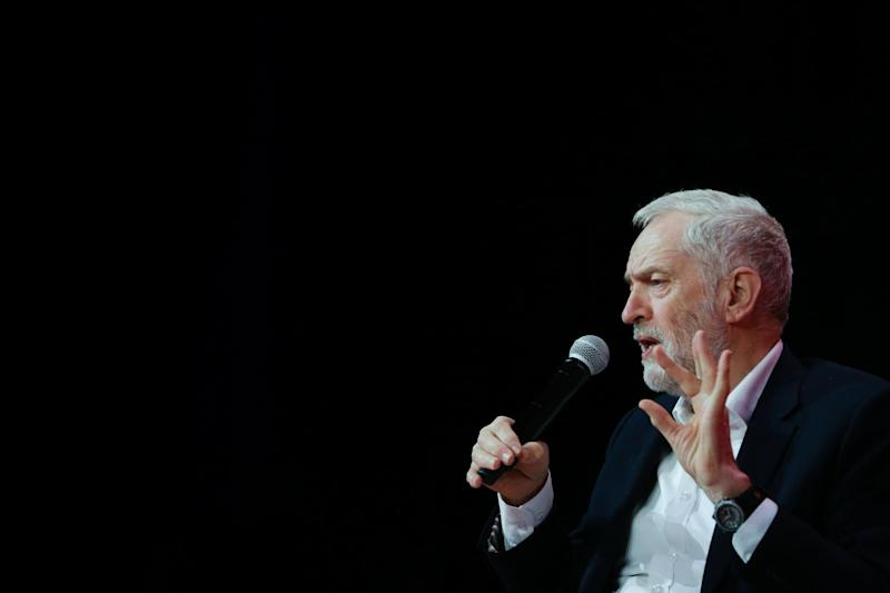 Mr Corbyn will outline what he sees as the four great threats to humanity: EPA