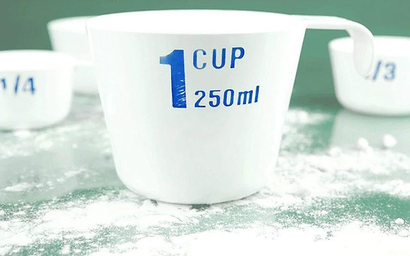 Measuring cup - Credit: Alamy