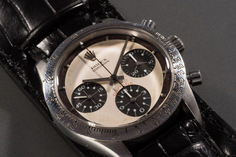 """<p>The eponymous Rolex gifted to Paul Newman by his wife Joanne Woodward (it's engraved with the message """"Drive Carefully"""" in reference to his love for racing) in 1968, the Paul Newman Daytona has been considered a holy grail timepiece amongst collectors and fans for decades, but even the most fervent Rolex fanboys couldn't have imagined just how much it would reach in auction.</p><p>Given a conservative price tag of £1,000,000, King Cool's everyday watch, with its black-and-creme exotic dial, was eventually sold to an undisclosed phone buyer for a brain-melting £13,500,000 - the equivalent of 9,030 2017 Rolex Daytonas. </p><p>Yeah, but they never touched the wrist of Newman, did they?</p>"""