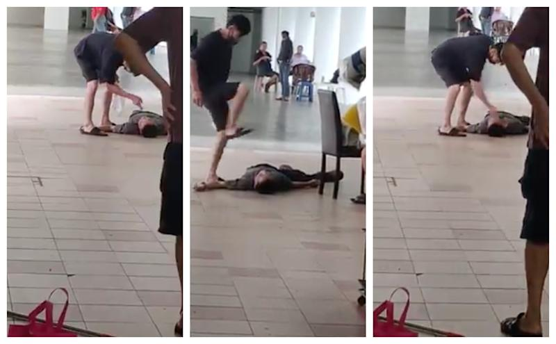 A video of the incident. (PHOTO: Facebook screenshots)