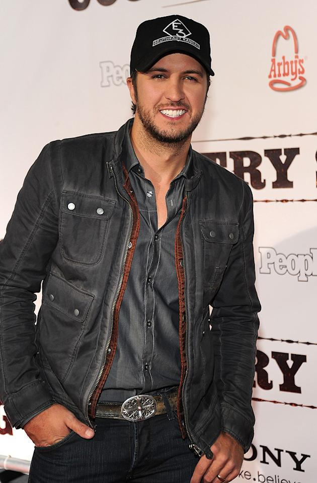 "Luke Bryan attends the Nashville premiere of <a href=""http://movies.yahoo.com/movie/1810133348/info"">Country Strong</a> on November 8, 2010."