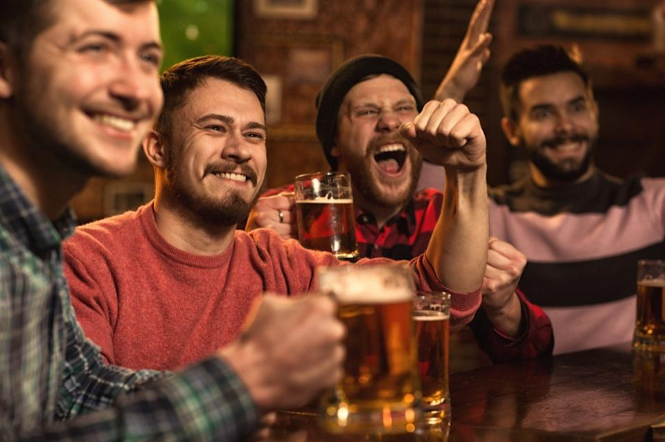men drinking ways we're less healthy