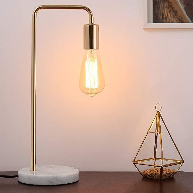 "<br><br><strong>JS NOVA JUNS</strong> Edison Lamp with White Marble Base, $, available at <a href=""https://amzn.to/3w393UX"" rel=""nofollow noopener"" target=""_blank"" data-ylk=""slk:Amazon"" class=""link rapid-noclick-resp"">Amazon</a>"