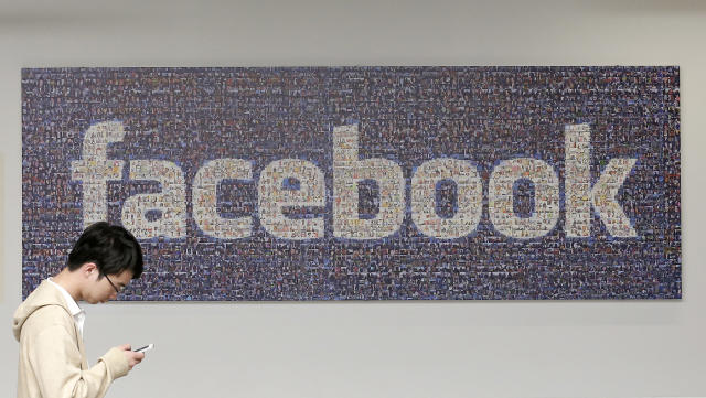 Travel restrictions have been introduced at Facebook. (Jeff Chiu/AP)