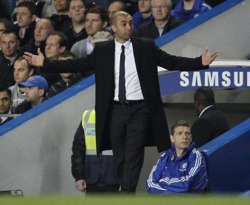 Roberto Di Matteo's side gave a tired performance as their recent gruelling schedule finally caught up with them