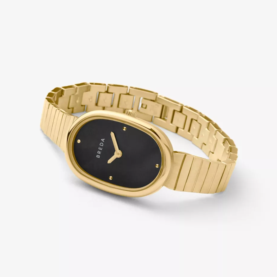 """Dallas-based company Breda has absolutely nailed the vintage-inspired watch, and the Jane style is just one of its many timeless designs. $150, Urban Outfitters. <a href=""""https://www.urbanoutfitters.com/shop/breda-jane-watch"""" rel=""""nofollow noopener"""" target=""""_blank"""" data-ylk=""""slk:Get it now!"""" class=""""link rapid-noclick-resp"""">Get it now!</a>"""