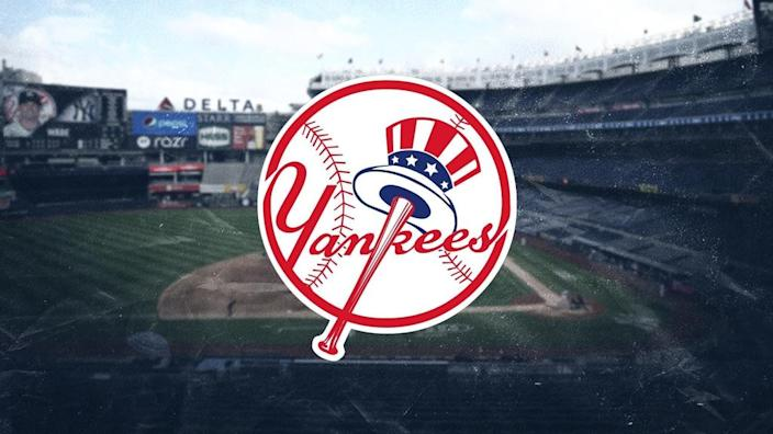 Yankees treated image with logo color