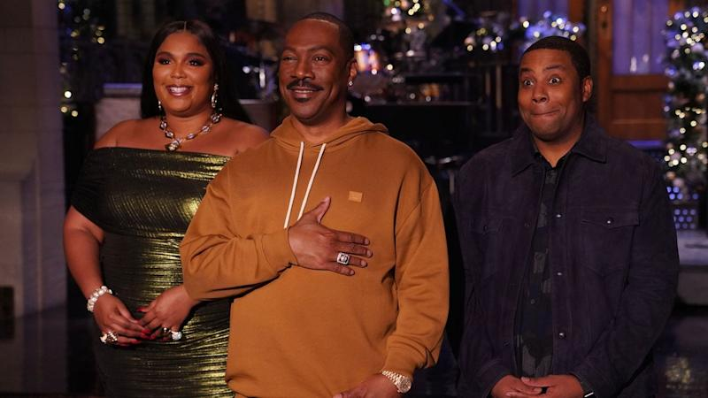 Eddie Murphy Makes Triumphant Return to 'Saturday Night Live' With Epic Cameo-Filled Monologue