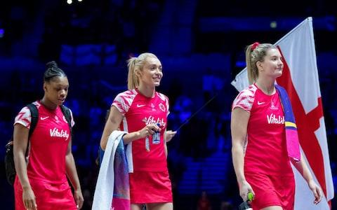 England will take on South Africa for a bronze medal at the Netball World Cup - Credit: Getty Images