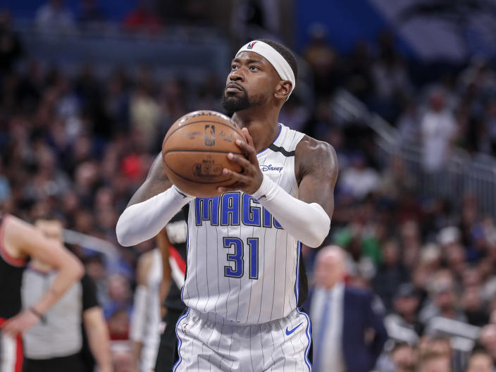 """Terrence Ross left the NBA bubble on Sunday to undergo testing for a """"personal, non-COVID medical matter."""" (Don Juan Moore/Getty Images)"""