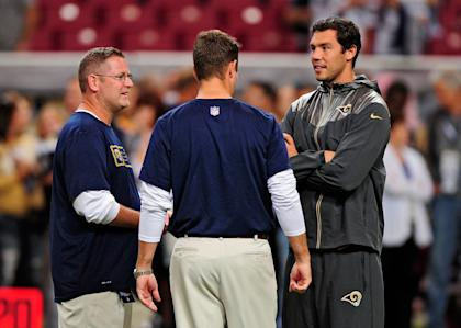 The Rams' huge investment in Sam Bradford has not paid off. (USA TODAY Sports)