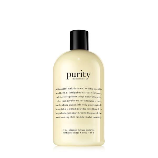 Philosophy Purity Made Simple One-Step Facial Cleanser, S$34.