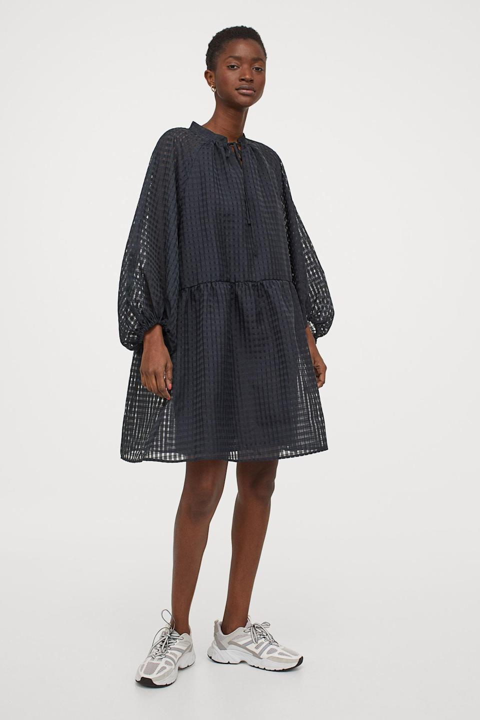 <p>This <span>Balloon-sleeved Dress</span> ($35) has the most dramatic, yet elegant silhouette.</p>