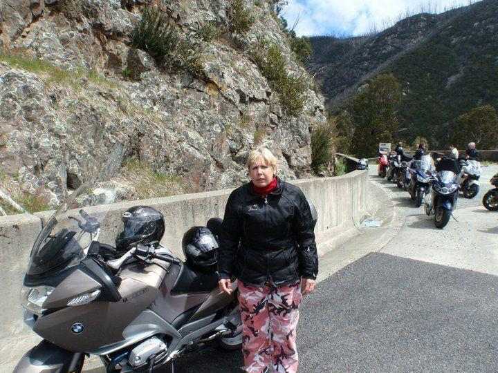 <strong>2010 again. Riding on the back of dad's motorbike was one of her favourite things to do. She got quite terrified when the helmets were on, but once moving had a blast. This had to stop in 2011, when an on-bike paranoia attack nearly caused an accident.</strong>