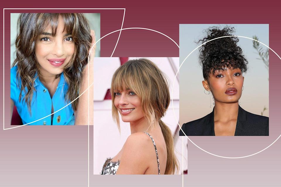 Wispy Bangs Are the New Curtain Bangs
