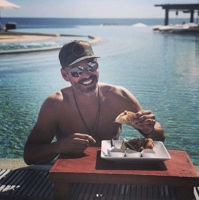 "<p>It was fiesta time for the actor, who is on a getaway in Cabo San Lucas with wife LeAnn Rimes. ""Yep! Enjoying an authentic taco Tuesday!"" he wrote, making sure to add a ""#sideoftequila"" with his eats. (Photo: <a href=""https://www.instagram.com/p/Bdvg4fEgSCv/?taken-by=eddiecibrian"" rel=""nofollow noopener"" target=""_blank"" data-ylk=""slk:Eddie Cibrian via Instagram"" class=""link rapid-noclick-resp"">Eddie Cibrian via Instagram</a>) </p>"
