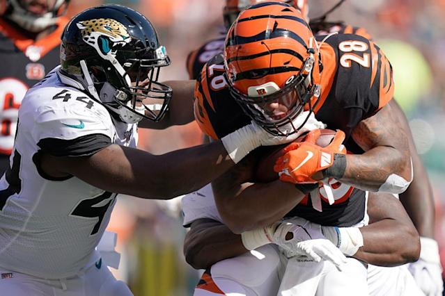 Jaguars Win Turnover Battle To Beat Bengals 27-17