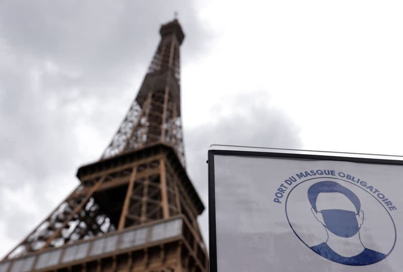 Eiffel Tower to re-open - but you will have to take the stairs