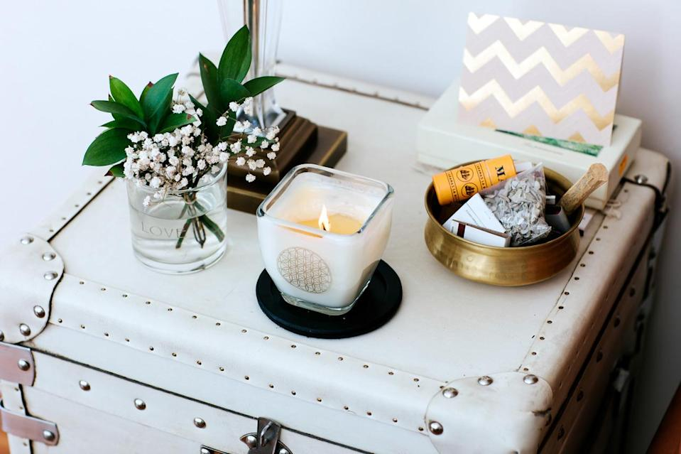 I love candles! Especially holistic candles made from pure ingredients that add good energy to any room.