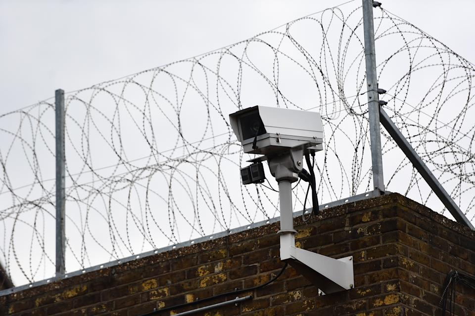 A general view of HMP Pentonville, north London. The prison, one of Britain's oldest, is overcrowded, crumbling and porous to drugs, weapons and mobile phones, a watchdog report has warned.