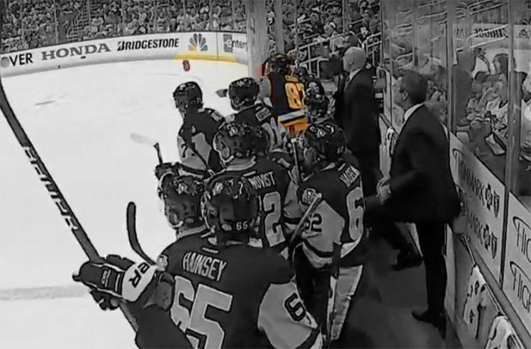 Crosby's great night overshadowed by Subban tussle, water bottle toss