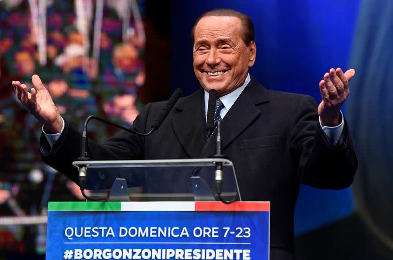 Italy's Berlusconi has slight lung infection, doctor says