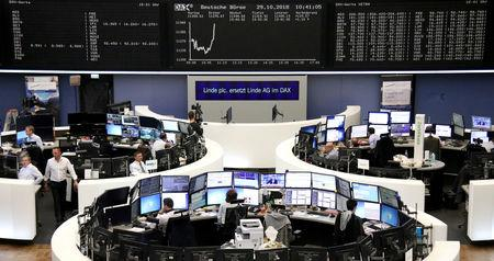 Global stocks pare gains as investors remain cautiousMore