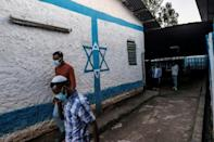 Life for Ethiopian Jews in Gondar revolves around the Hatikvah Synagogue