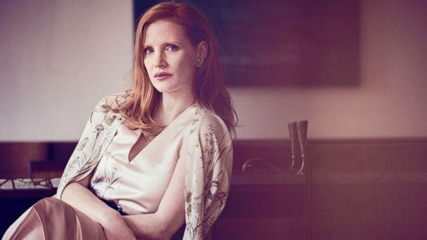 PHOTO: Jessica Chastain covers the December/January issue of Town & Country. (Matthew Brookes)
