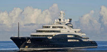 <p><em>Serene</em> was built by Fincantieri for Mohammad Bin Salman Al Saud, crown prince of Saudi Arabia. This yacht accommodates 24 guests and 52 crew. Some notable amenities of this beautiful ship include an indoor saltwater pool, piano room and bar, outdoor movie theater, and a climbing wall. </p>