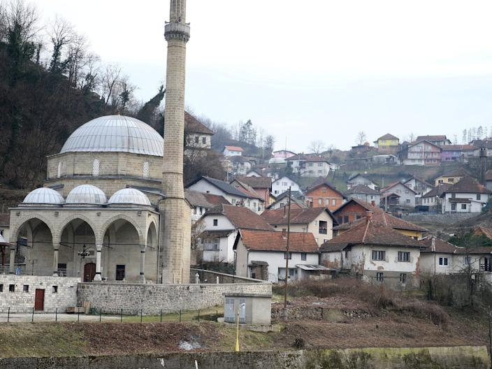 FILE PHOTO: An old area of Maglaj is seen, Bosnia and Herzegovina February 25, 2020.  REUTERS/Dado Ruvic