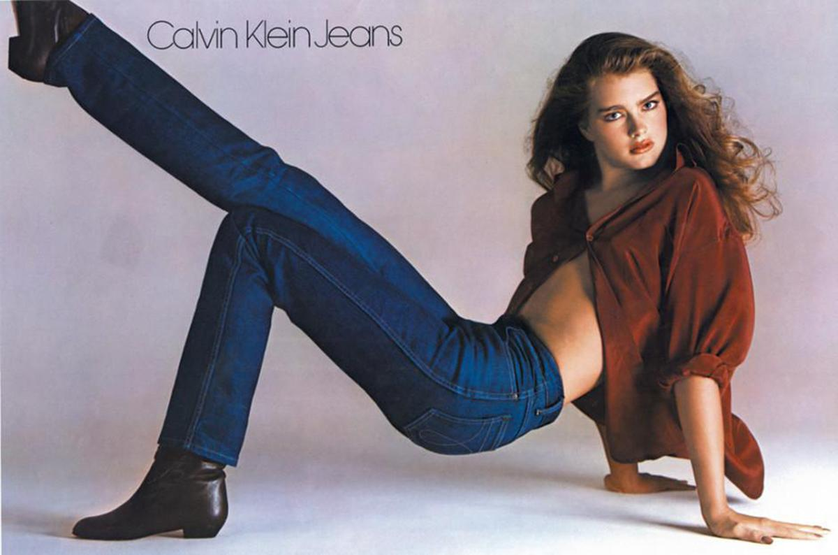 <p>That's when we learned that apparently, nothing came between the actress and her Calvins. (Photo: Calvin Klein) </p>