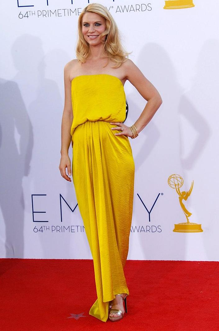 At the 64th Emmy Awards, September 2012