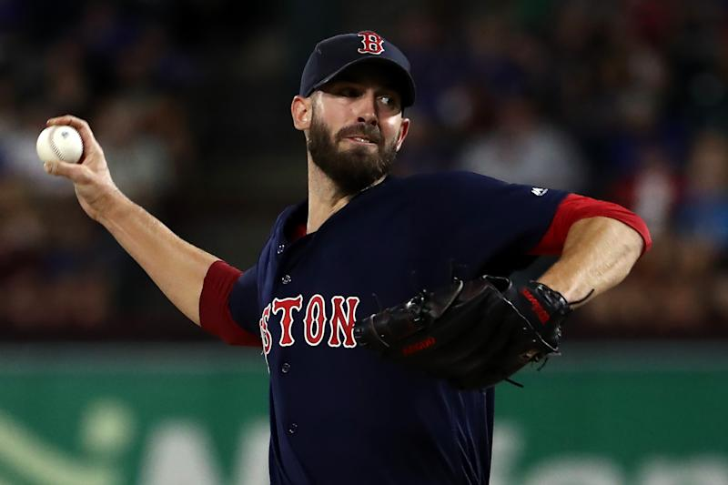 The New York Mets could be looking to add former AL Cy Young award winner Rick Porcello. (Photo by Ronald Martinez/Getty Images)