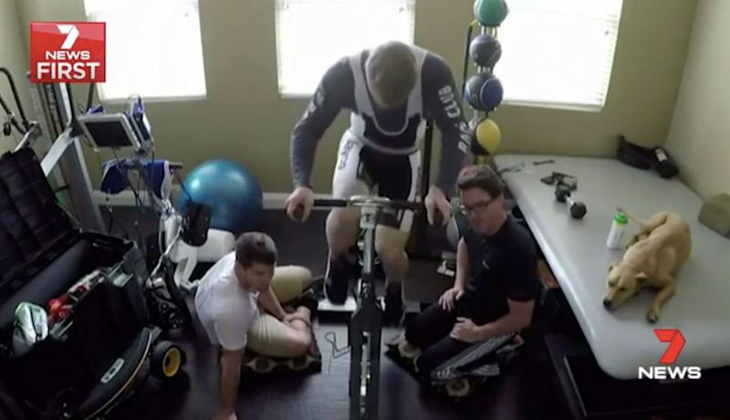 Months of gruelling physical therapy followed. Source: 7 News