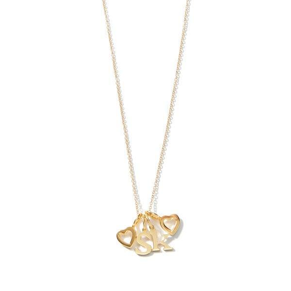 <p>This customizable <span>Sarah Chloe Love Count Multi Heart Necklace</span> ($165) is so sentimental and sweet.</p>
