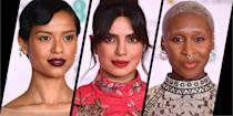 <p>This year's awards season is, of course, unlike any other – but that doesn't mean the glamour has been forgotten. Taking place last night, the BAFTAs ceremony spanned continents, with some guests attending in person at the Royal Albert Hall, and some tuning in from the US via video links.</p><p>None of this dulled the shine of the evening's best beauty looks, with stars such as Gugu Mbatha-Raw and Cynthia Erivo providing plenty of inspiration for our own post-lockdown make-up moves.</p><p>Here, see the stand-outs from the evening up close…</p>