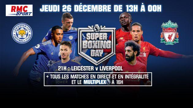 "Premier League: Ne manquez pas le ""Super boxing day"" sur RMC Sport"