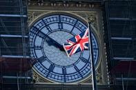 The UK's tortuous departure from the European Union takes full effect when Big Ben strikes 11:00 pm (2300 GMT) in central London