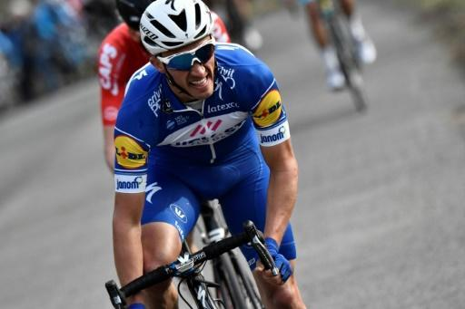<p>Alaphilippe claims second stage win at Tour of Basque Country</p>