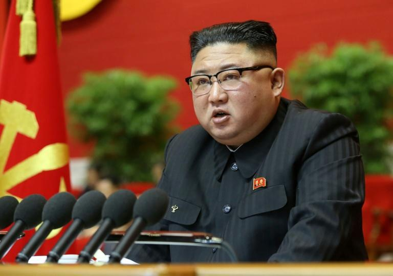 North Korean leader Kim Jong Un told the 8th Congress of the Workers' Party of Korea the country's economic development plan had fallen short in 'almost all areas'