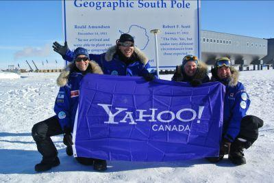 The Test Your Limits team sends a warm greeting back to Yahoo! Canada and its readers!