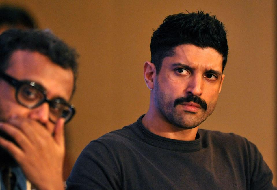 <p>Indian Bollywood actor Farhan Akhtar</p> (Getty Images)