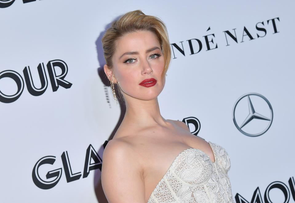Amber Heard (Credit: ANGELA WEISS/AFP/Getty Images)