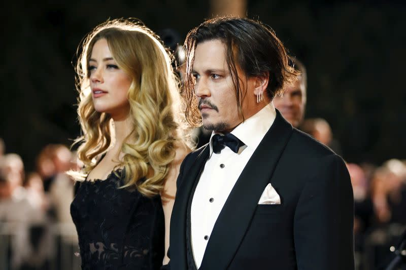 Factbox: Johnny Depp and Amber Heard: from romance to rancor