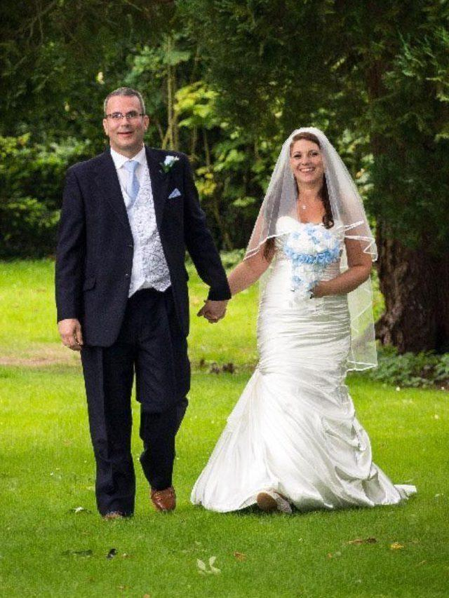 Stephanie didn't want to wear joggers on her big day. Photo: Supplied