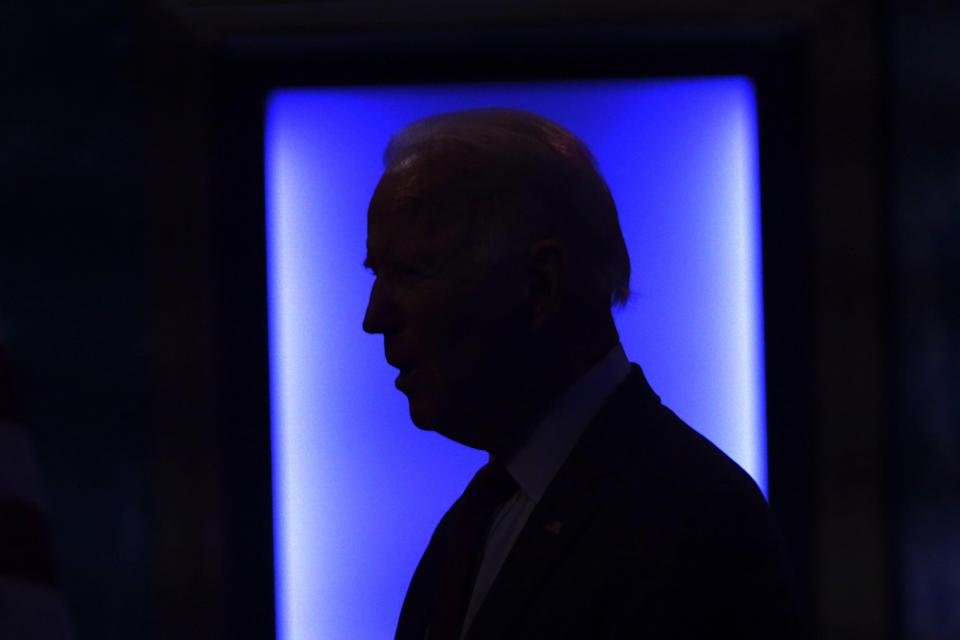 Democratic presidential candidate Joe Biden has led Donald Trump in the polls throughout the summer. (Getty Images)