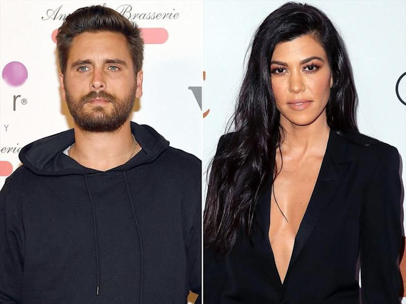 Scott Disick and Kourtney Kardashian | Denise Truscello/Getty; David Livingston/Getty