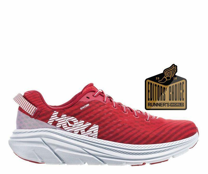 """<p><strong>Hoka One One</strong></p><p>zappos.com</p><p><strong>$95.00</strong></p><p><a href=""""https://go.redirectingat.com?id=74968X1596630&url=https%3A%2F%2Fwww.zappos.com%2Fp%2Fhoka-one-one-rincon-black-citrus%2Fproduct%2F9229079%2Fcolor%2F71748&sref=https%3A%2F%2Fwww.runnersworld.com%2Fgear%2Fg33624556%2Fzappos-vip-sale-running-shoes%2F"""" rel=""""nofollow noopener"""" target=""""_blank"""" data-ylk=""""slk:Shop Now"""" class=""""link rapid-noclick-resp"""">Shop Now</a></p><p><strong>Originally $115</strong></p><p><a class=""""link rapid-noclick-resp"""" href=""""https://go.redirectingat.com?id=74968X1596630&url=https%3A%2F%2Fwww.zappos.com%2Fp%2Fhoka-one-one-rincon-black-white%2Fproduct%2F9229079%2Fcolor%2F151&sref=https%3A%2F%2Fwww.runnersworld.com%2Fgear%2Fg33624556%2Fzappos-vip-sale-running-shoes%2F"""" rel=""""nofollow noopener"""" target=""""_blank"""" data-ylk=""""slk:Buy Men's"""">Buy Men's</a> <a class=""""link rapid-noclick-resp"""" href=""""https://go.redirectingat.com?id=74968X1596630&url=https%3A%2F%2Fwww.zappos.com%2Fp%2Fhoka-one-one-rincon-charcoal-gray-aqua-sky%2Fproduct%2F9229265%2Fcolor%2F813775&sref=https%3A%2F%2Fwww.runnersworld.com%2Fgear%2Fg33624556%2Fzappos-vip-sale-running-shoes%2F"""" rel=""""nofollow noopener"""" target=""""_blank"""" data-ylk=""""slk:Buy Women's"""">Buy Women's</a></p><p>The original Rincon is beloved by our editors on staff of all ages and paces; the shoe's soft and light cushioning can handle everything from a recovery-day shuffle to a fast-finish long run. </p><p><a class=""""link rapid-noclick-resp"""" href=""""https://www.runnersworld.com/gear/a28870576/hoka-one-one-rincon-review/"""" rel=""""nofollow noopener"""" target=""""_blank"""" data-ylk=""""slk:Read Review"""">Read Review</a></p>"""