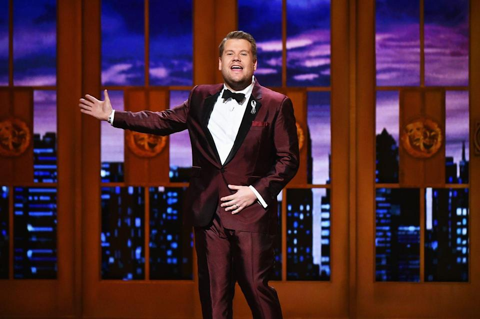 "<p>On his late night TV show, James Corden might make celebrities eat the occasional salmon milkshake in the popular ""Spill Your Guts or Fill Your Guts"" segment, but the host also got his start serving more traditional plates in the restaurant industry. </p><p>He told <em><a href=""https://www.youtube.com/watch?v=T9renrpO1xI&list=PL0hKMB1-xkc9hWRpmI4BxOq_AYWrWenNP&index=1"" rel=""nofollow noopener"" target=""_blank"" data-ylk=""slk:GQ"" class=""link rapid-noclick-resp"">GQ</a></em> that he worked at an Italian restaurant called Bella Pasta and admits that he used to steal booze from his job as a way to get himself invited to house parties when he and his friends were still underage. He got caught when he tried to walk out one shift with 50 bottles of beer, but his boss needed him to work the next day, so he didn't get fired.</p>"